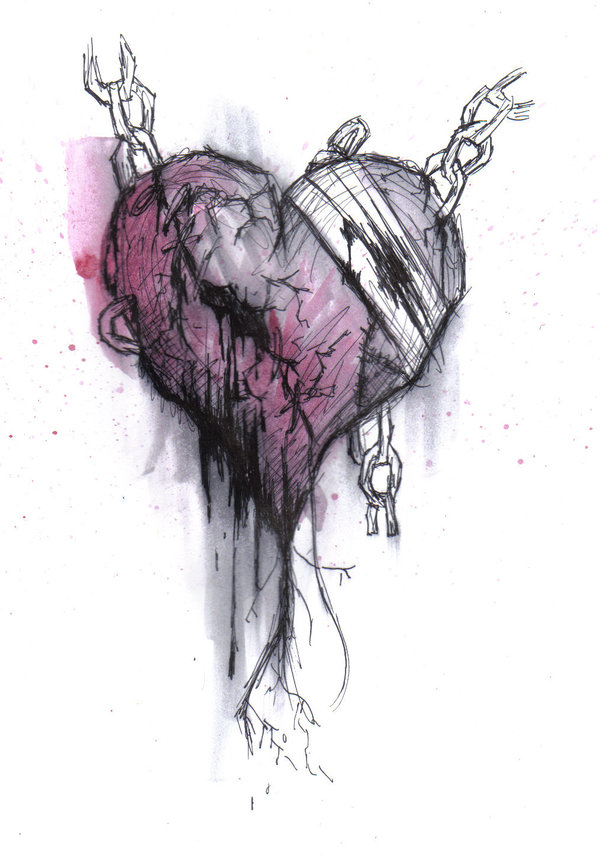 600x856 Emo Heart Drawings Emo By Crypticninjafangirl Emo