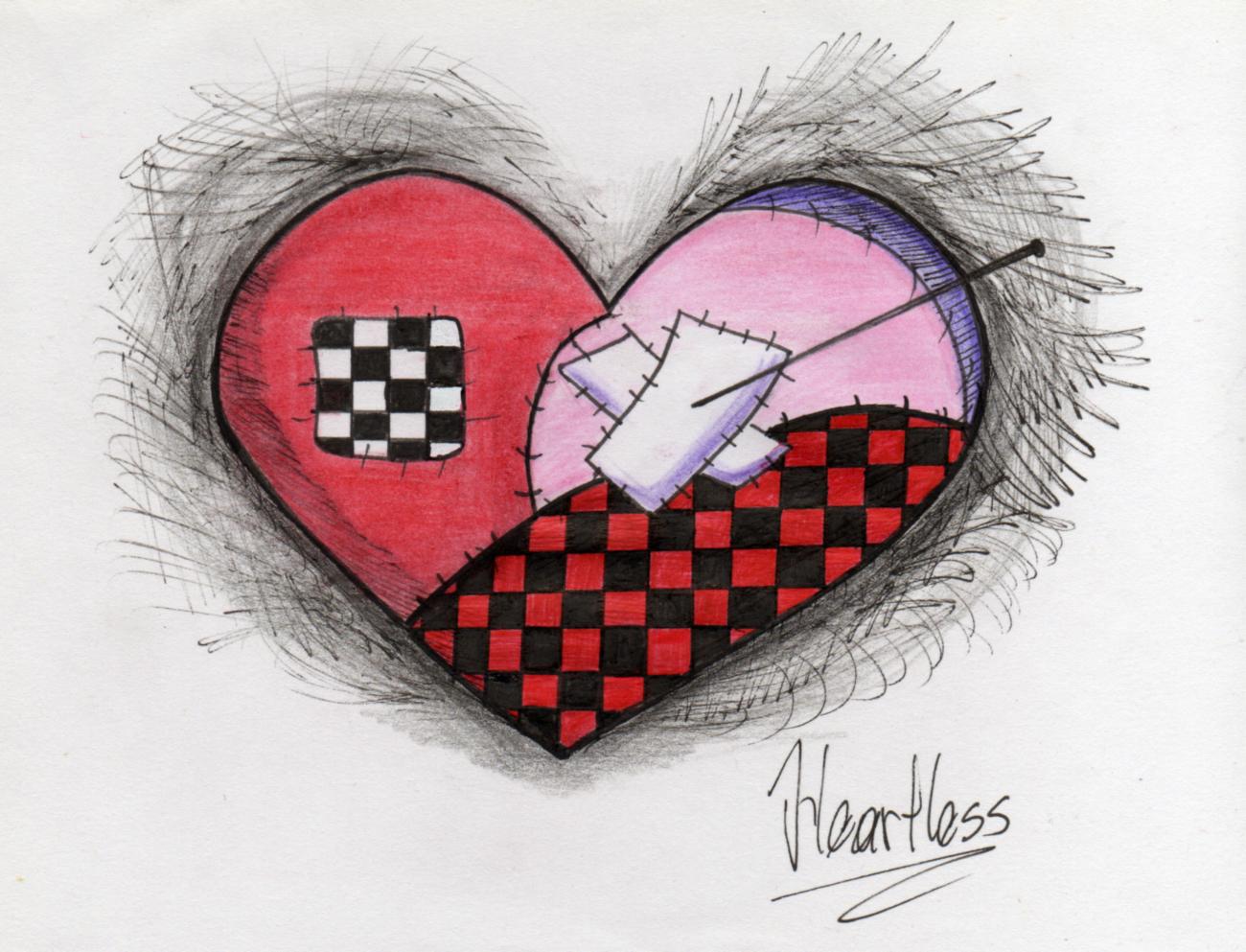 1300x993 Emo Heart By Nikkifirestarter
