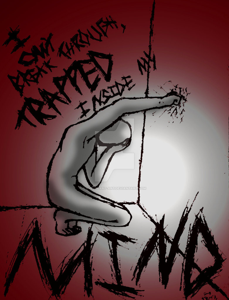 781x1022 Trapped By Emo Heart Art
