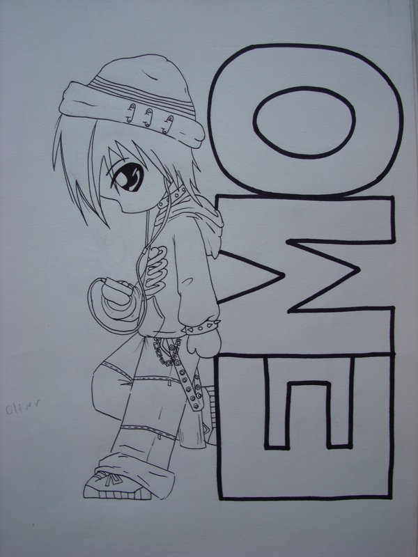 600x800 Emo Kid Unfinished By Sapphiresky1410