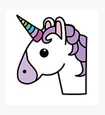 210x230 Unicorn Emoji Drawing Wall Art Redbubble