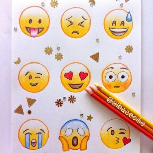 500x500 Cool, Cute, Drawing, Emoji, Happy, Smile Emoji