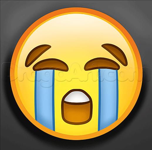 518x511 How To Draw Crying Emoji How To Draw Emoji Emoji