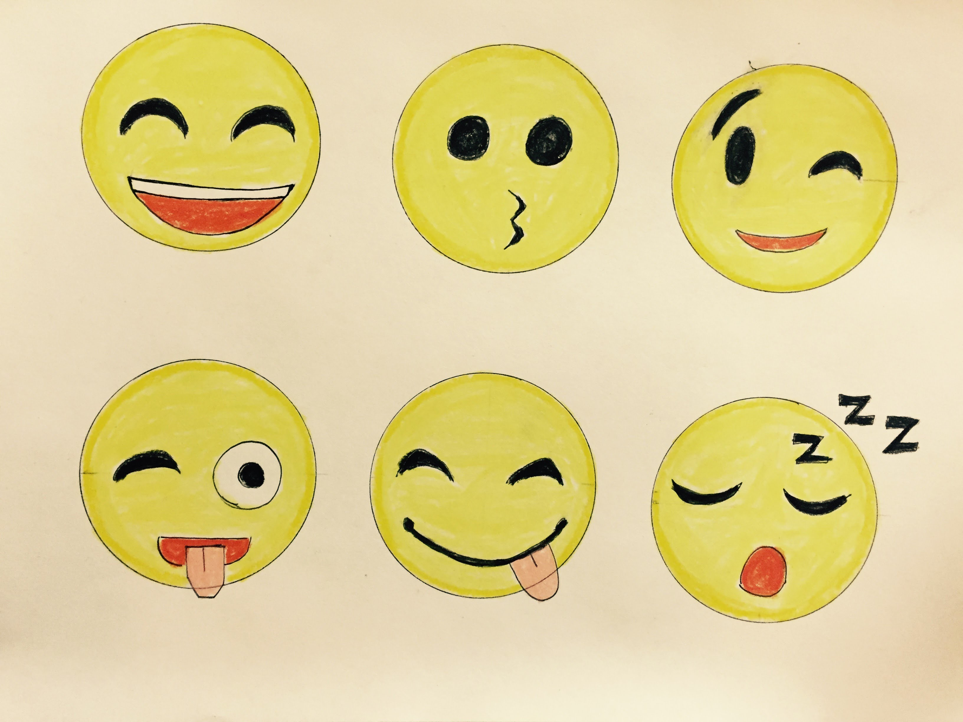 3264x2448 How To Draw Emojis Step By Step (9.23. 2017), My Crafts And Diy