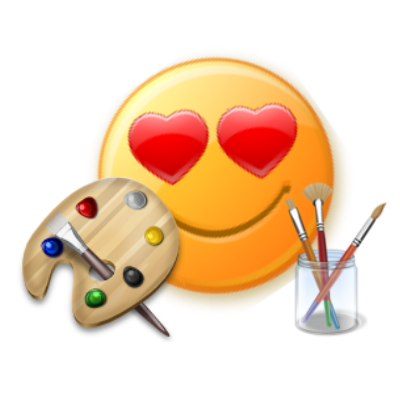 400x400 Skype Emoticon Art Drawing Tool Make Smiley Pictures