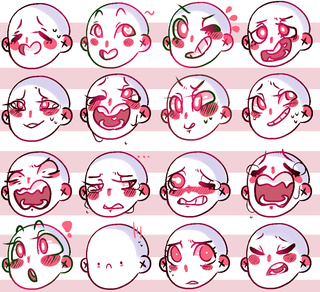 320x292 Facial Expressions Drawing Facial Expressions