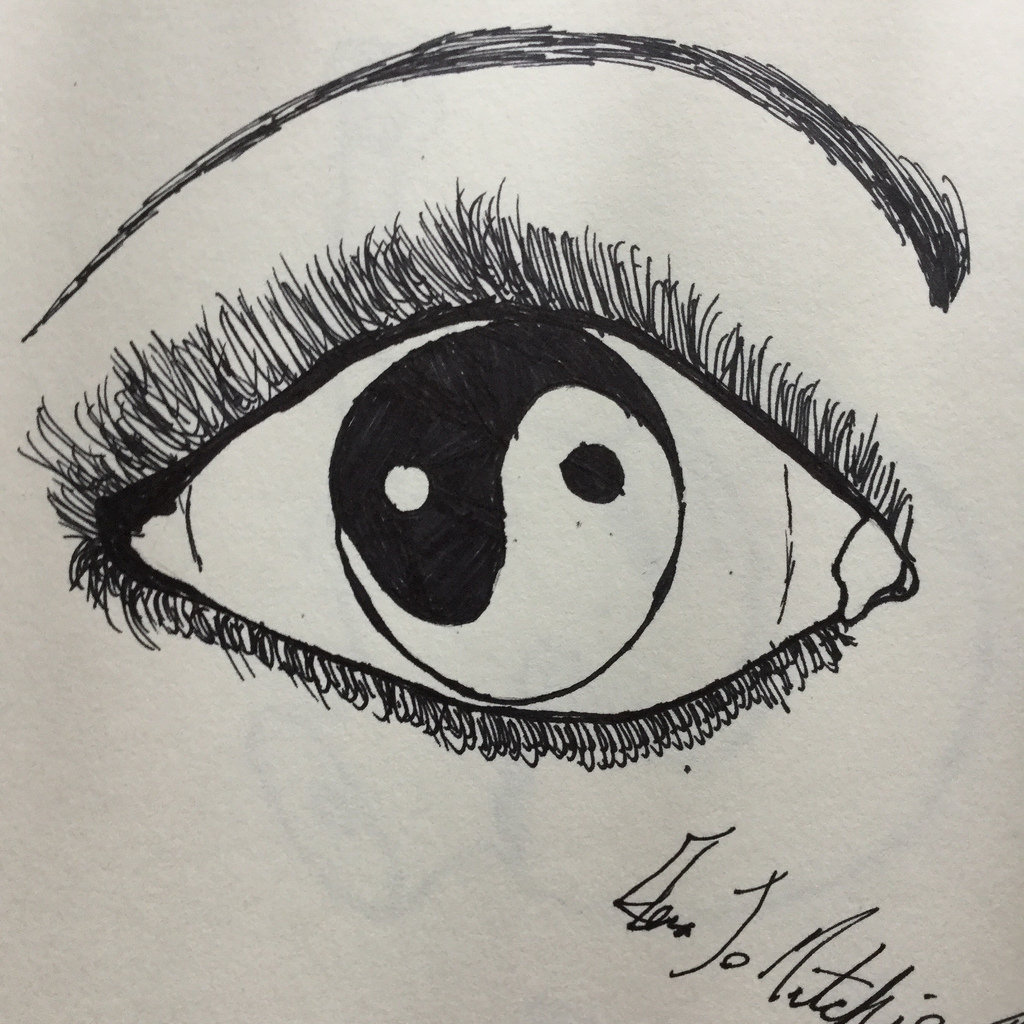 1024x1024 The World's Best Photos Of Drawing And Yinyang