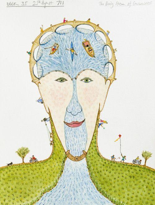 501x662 Drawing Mental Illness Artist Bobby Baker's Visual Diary Visual