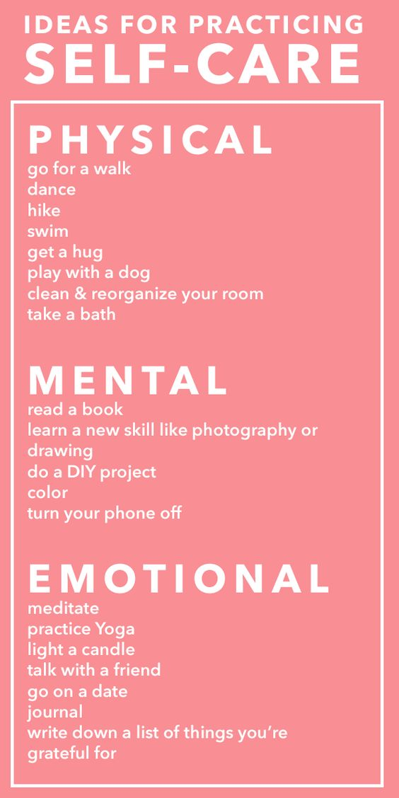 564x1128 Physical, Mental, Emotional Self Care Ideas Hghenergizer