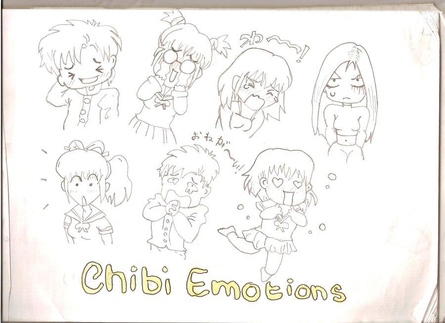 900x654 Chibi Emotions By Love Darem23