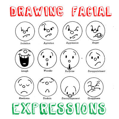 400x400 How To Draw Cartoon Emotions Amp Facial Expressions Drawing Lessons