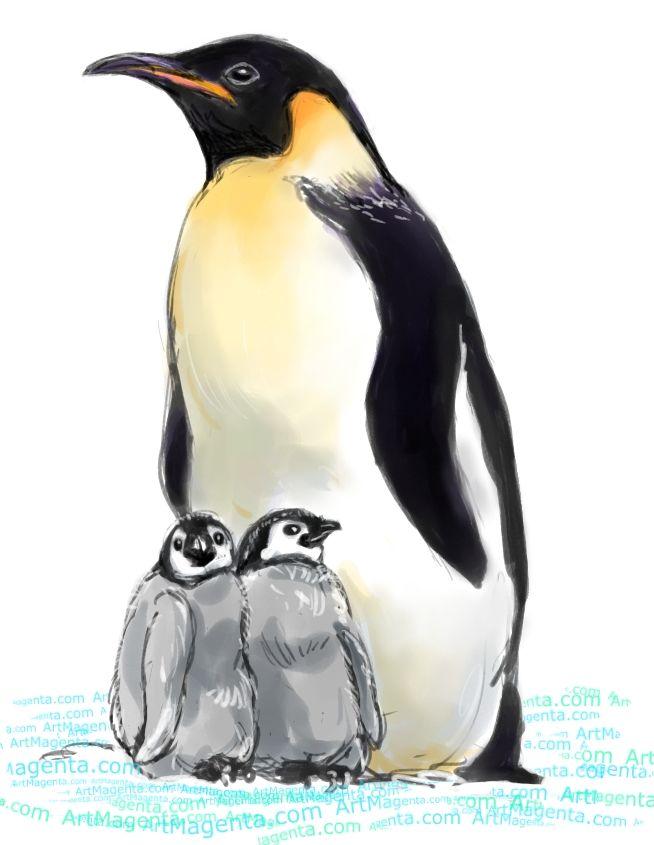 654x845 Emperor Penguin Birdsptaki Emperor, Penguins