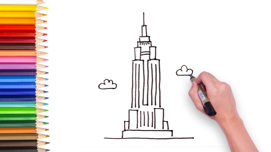 1024x576 Learn To Draw The Empire Building