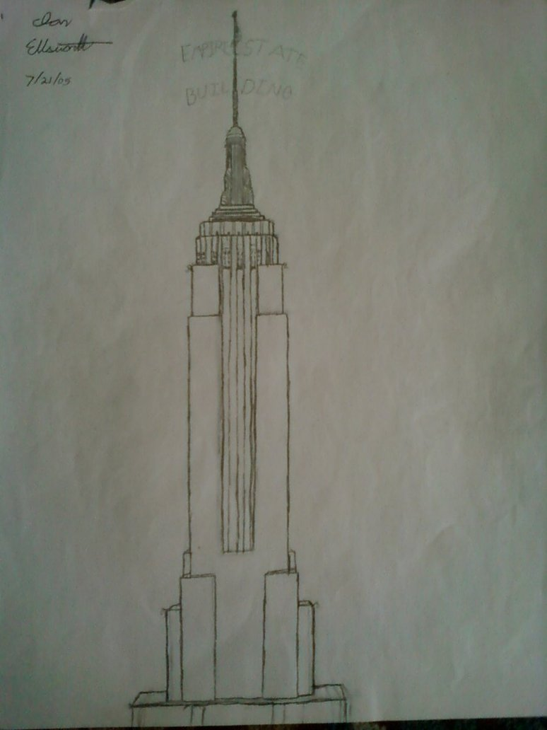 774x1032 Empire State Building By Ciggy1992