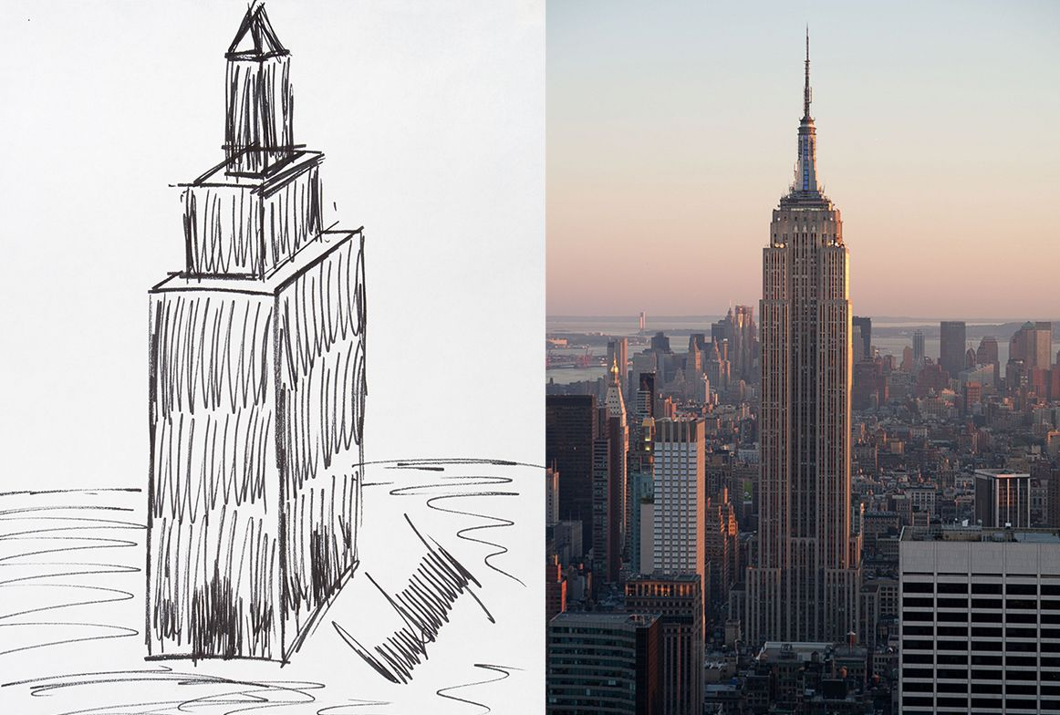 Empire State Building Drawing at GetDrawings.com | Free for personal ...
