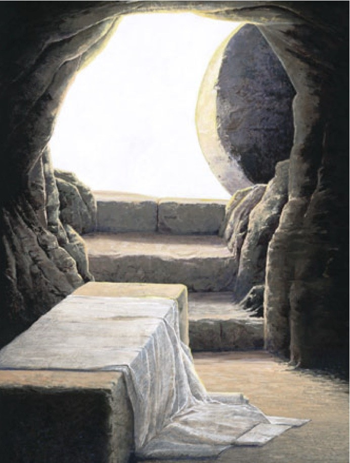 692x915 At The Empty Tomb