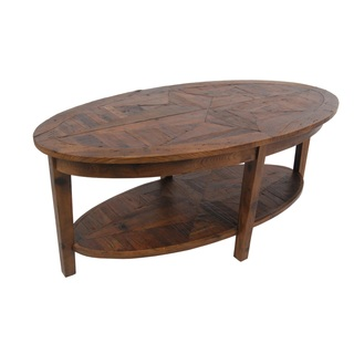 320x320 Alaterre Heritage Reclaimed Wood Oval Coffee Table Oval Coffee