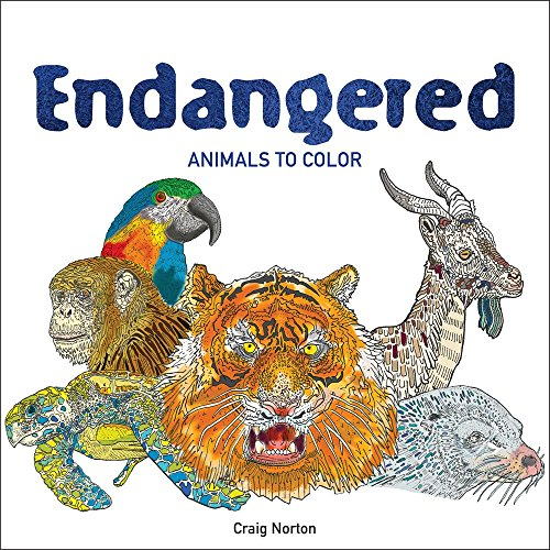 500x500 Endangered Animals To Color By Craig Norton