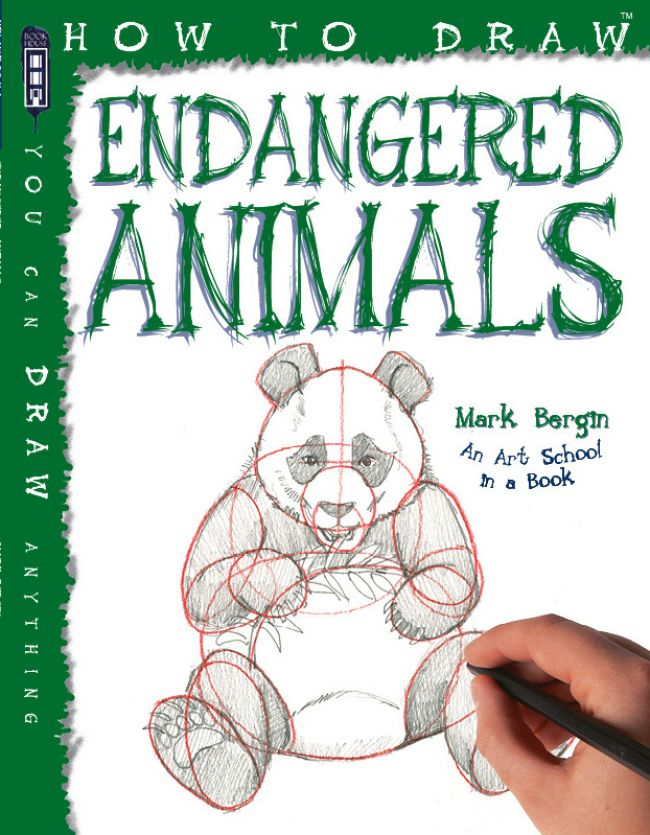 650x835 How To Draw Endangered Animals Salariya Publishing
