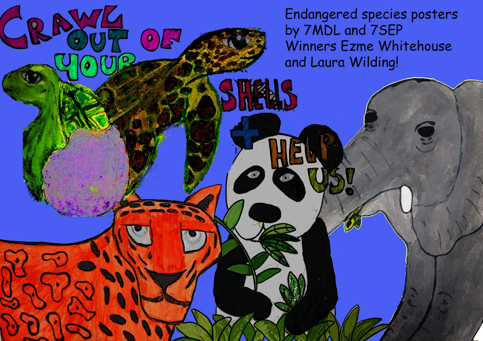 1600x1130 Drawing On Science Endangered Species Screensaver