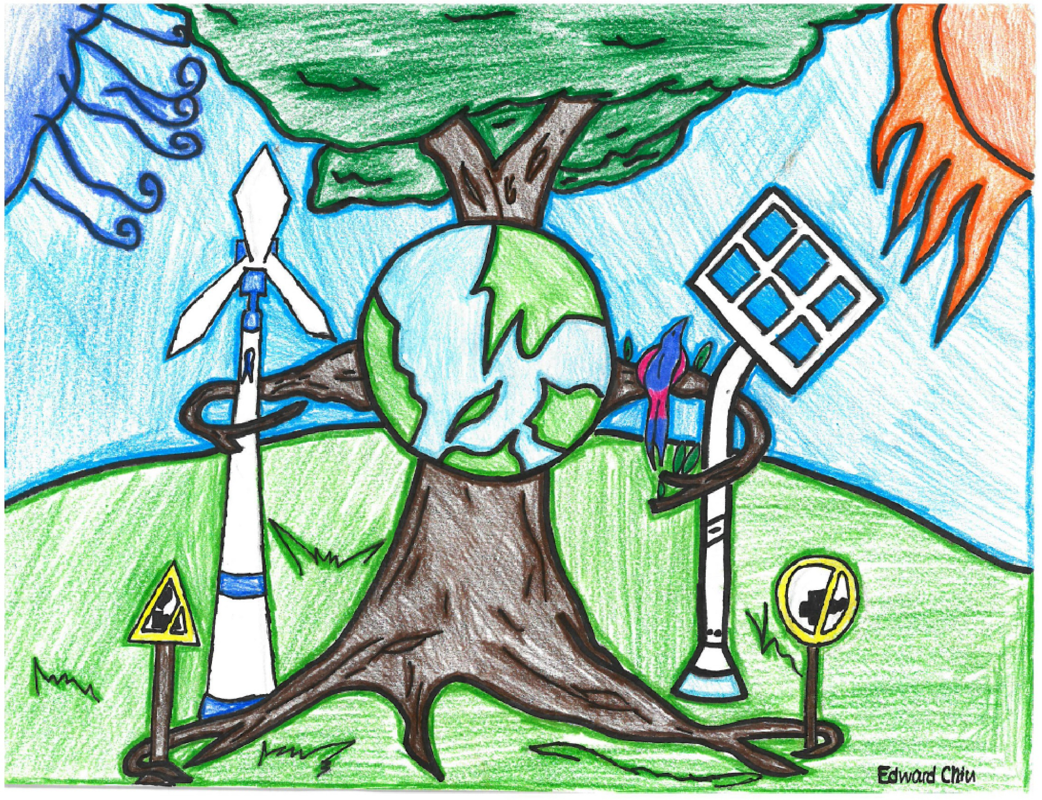 2104x1616 Drawing Of Conservation Of Energy Energy Conservation Poster