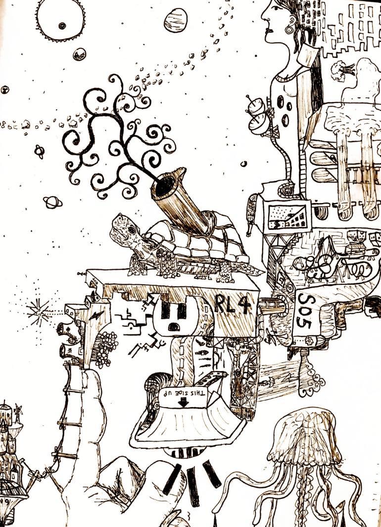 770x1064 Saatchi Art Energy Crisis Drawing By Andrew Slugantz