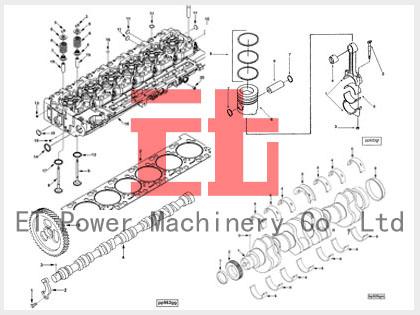 420x315 Cummins 6cl8.9 Engine Parts Cummins Engine Parts