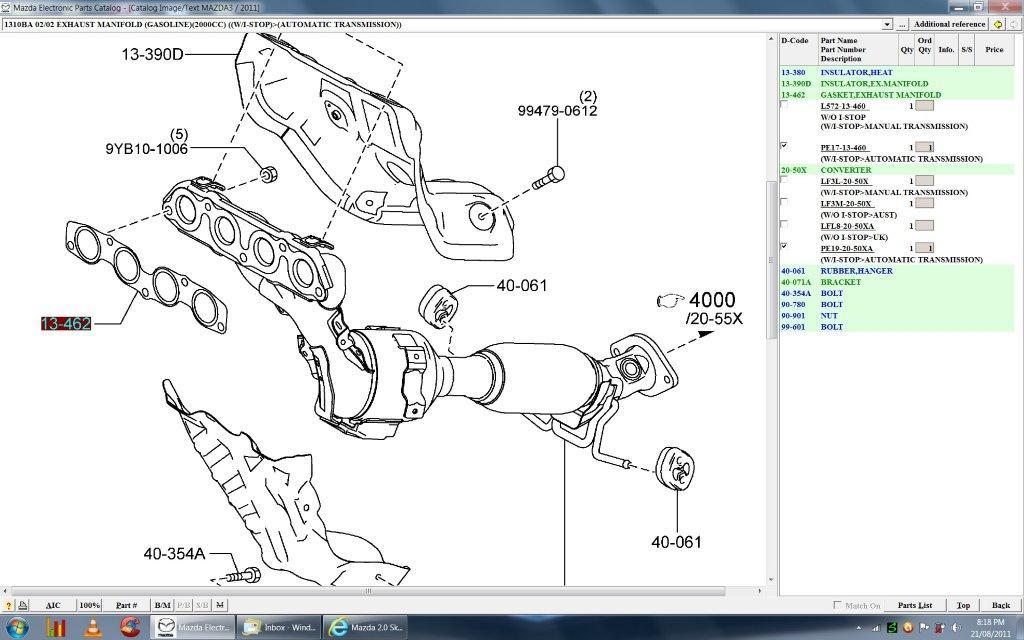1024x640 Mazda 2.0 Skyactiv Pe Engine Parts Details Here.