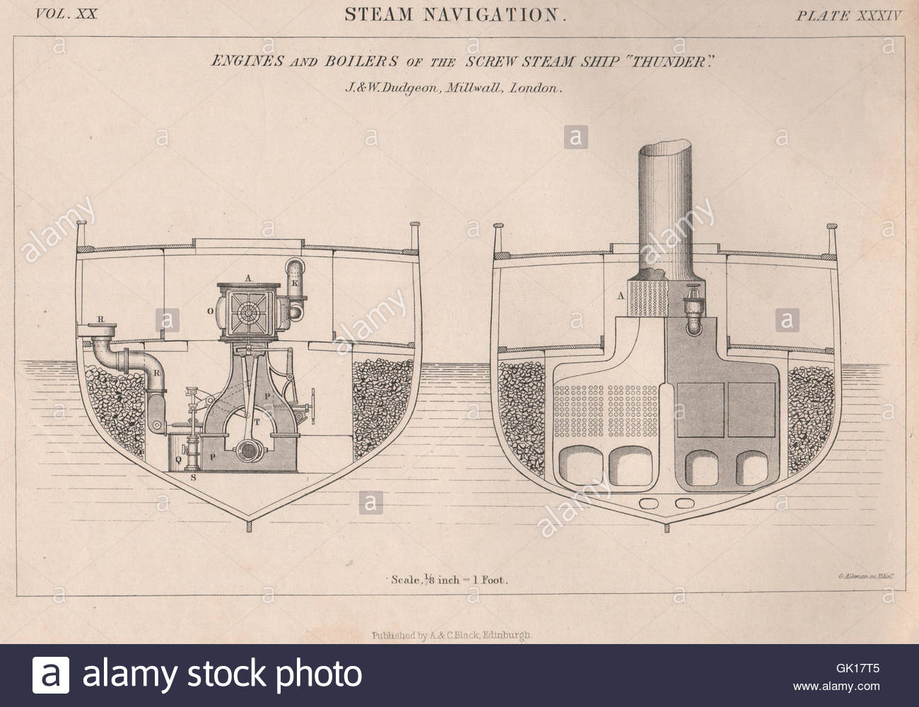 Engines Drawing At Free For Personal Use Mazda 808 Wiring Diagram 1300x1000 Engineering Amp Boilers Of The Screw Steam Ship