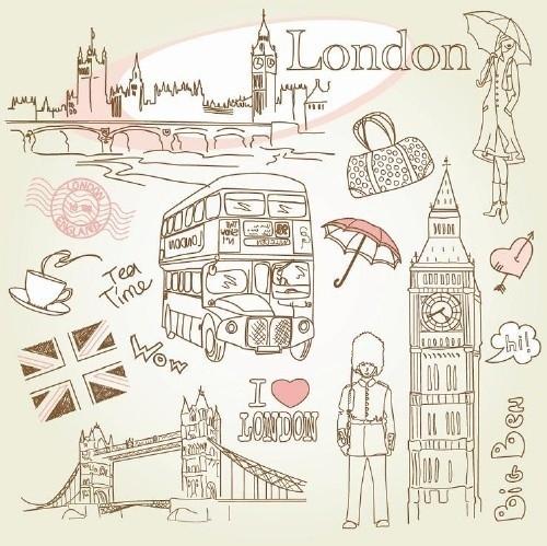 500x499 Art, Bucket List, Drawing, Illustration, London My Style