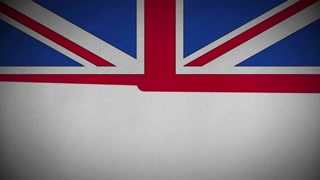 320x180 Animation Of England Flag Motion Background