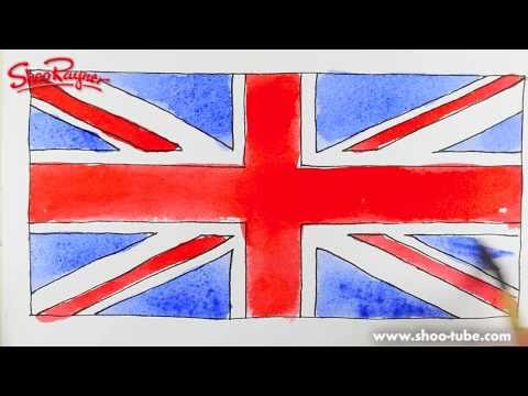 480x360 How To Draw The British Flag