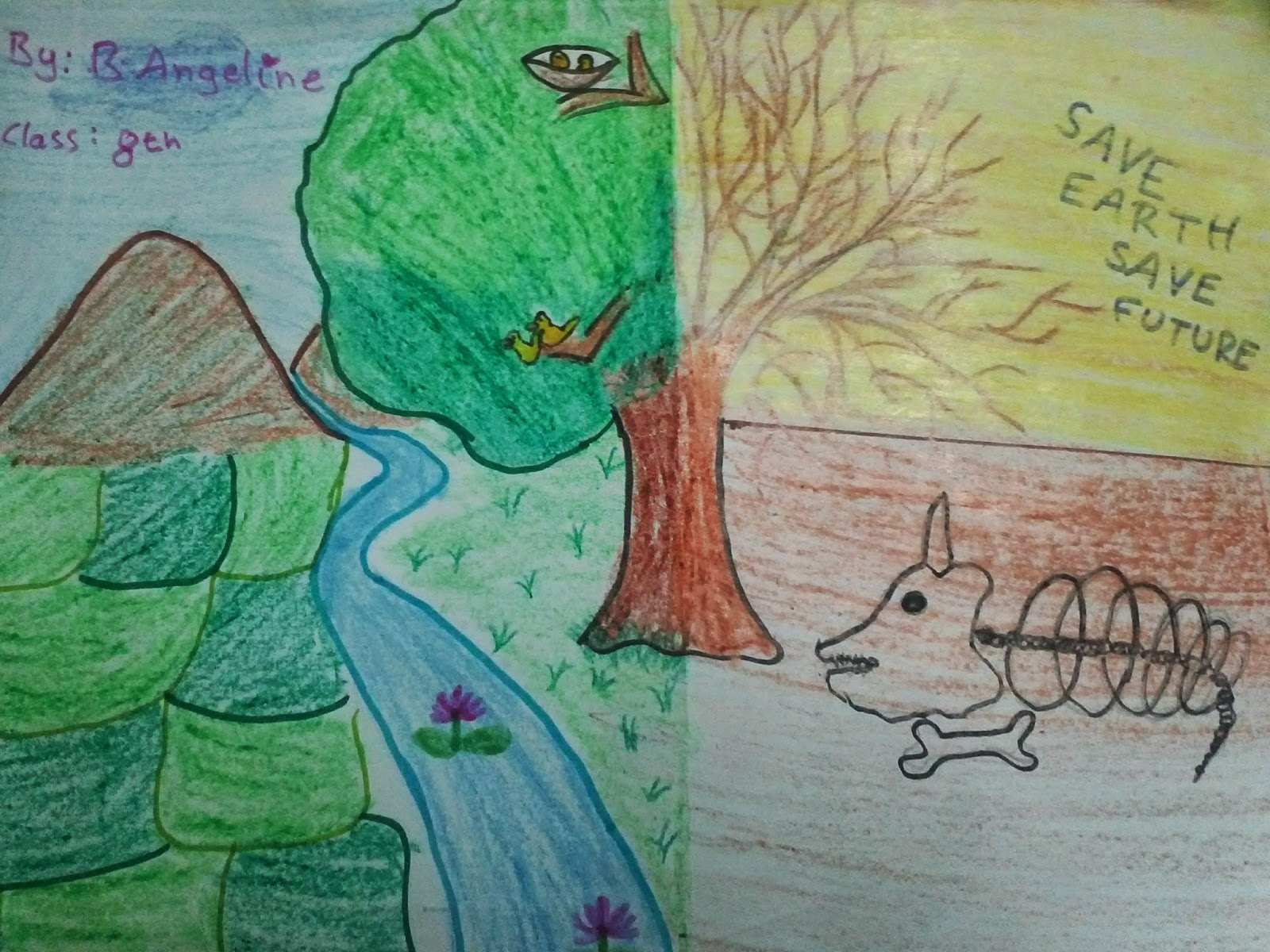 1600x1200 Jessy My Blog Jes Drawing For Wold Environment Dayjes