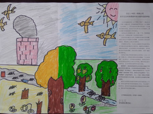 520x389 Environmental Protection Classroom Winning Drawings