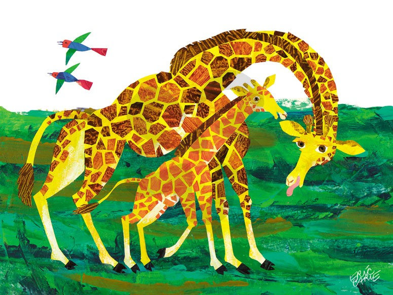 Eric Carle Drawing on Marvelous Picture Books Very Hungry
