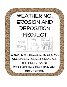 270x350 Weathering, Erosion And Deposition Fun Drawing Review Project By