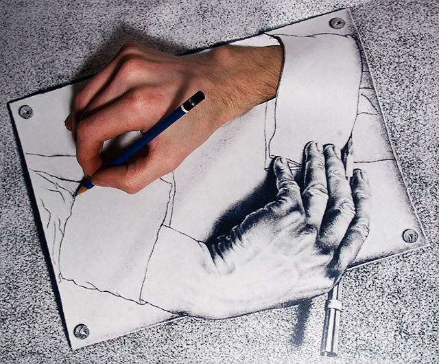 640x530 Image Result For Escher Drawings Illusions In Art