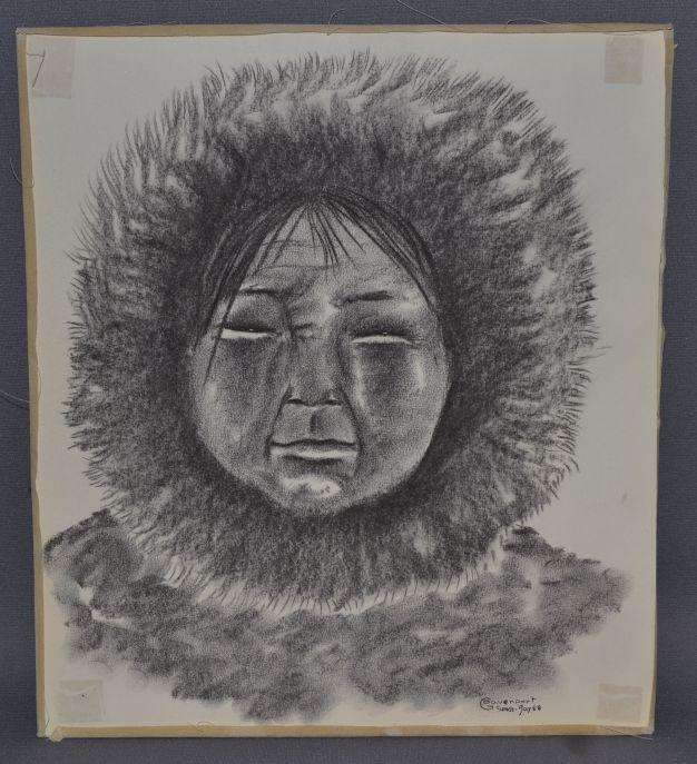 626x687 Eskimo Drawing