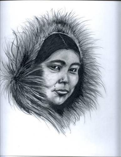 386x500 Eskimo Woman (Artori)