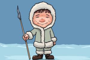 300x200 How To Draw An Eskimo