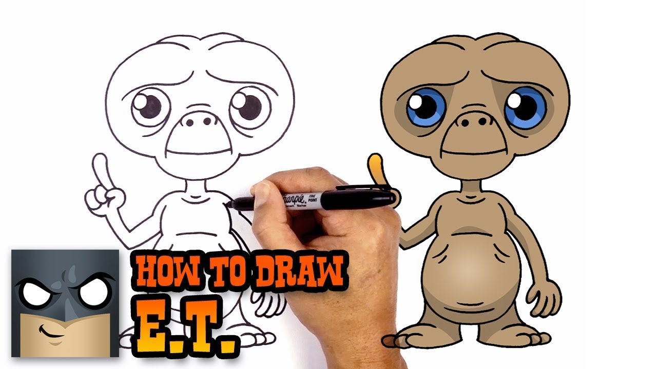 Et Drawing At Getdrawings Com Free For Personal Use Et