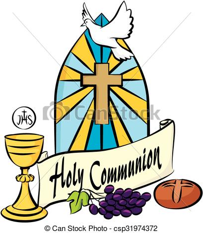 409x470 My First Holy Communion. Holy Communion Items On The Vectors