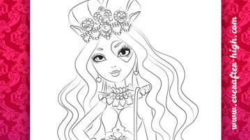 359x201 Ever After High Coloring Pages Ever After High