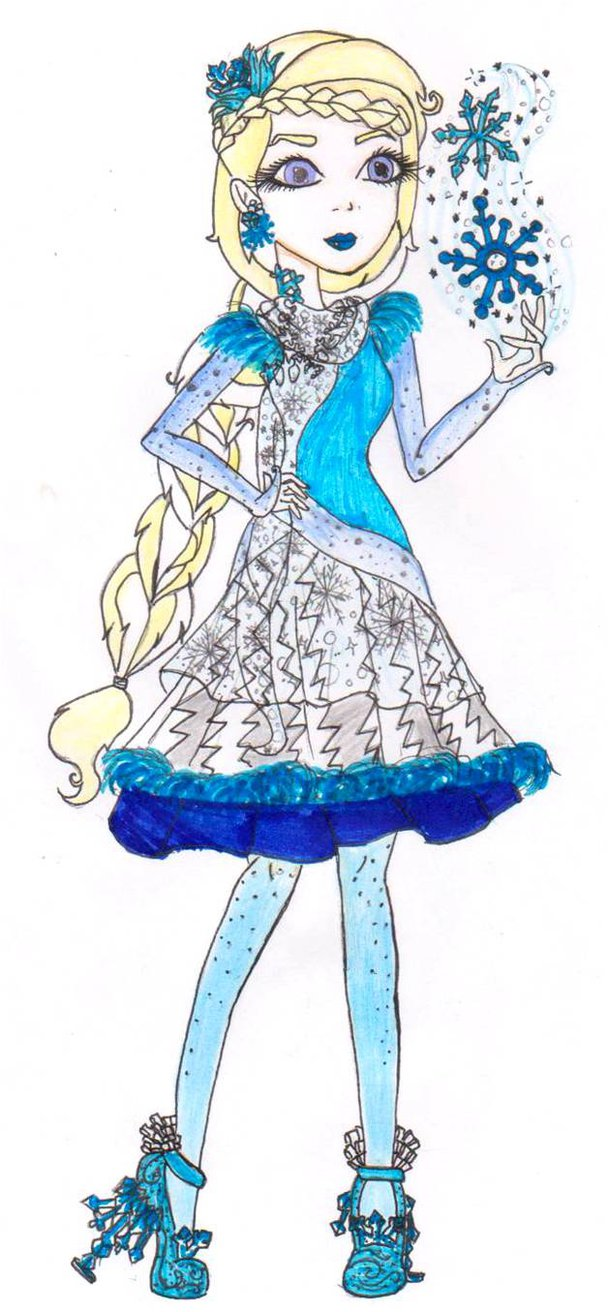 608x1312 Point Commission Ever After High Silver Frost By Haneeys1nsyeerah