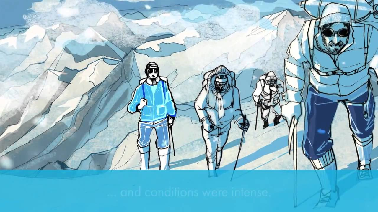 1280x720 A.i.g Mount Everest Drawing Alex Green Illustrator