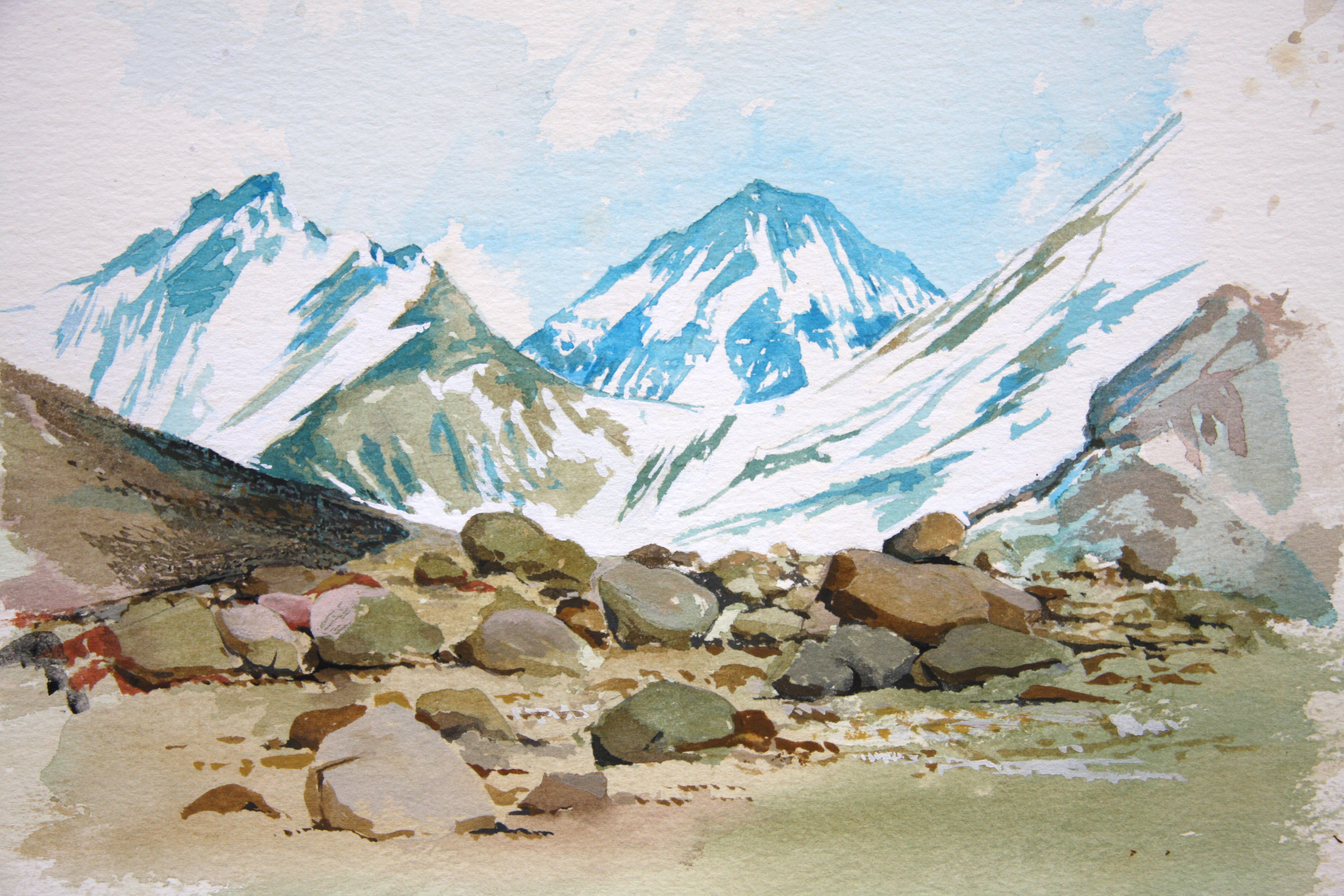 Everest Drawing At Getdrawings Free Download