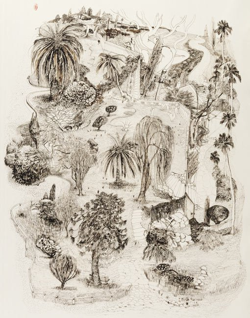 510x648 Brett Whiteley Drawing Is Everything Art Gallery Nsw