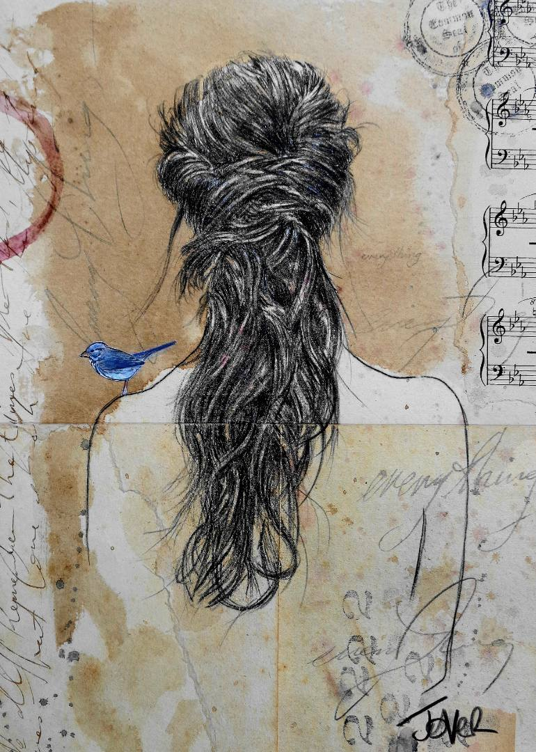 770x1080 Saatchi Art Everything Drawing By Loui Jover