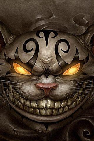 320x480 Evil Cat Stuff To Draw