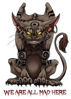 236x330 Evil Alice In Wonderland Drawing